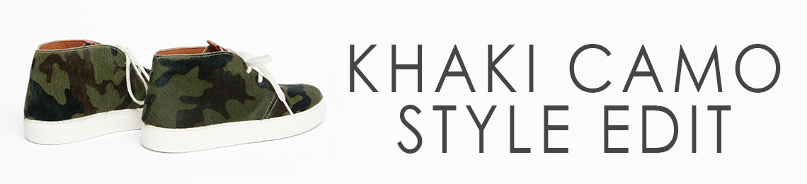 KHAKI CAMOUFLAGE STYLE EDIT