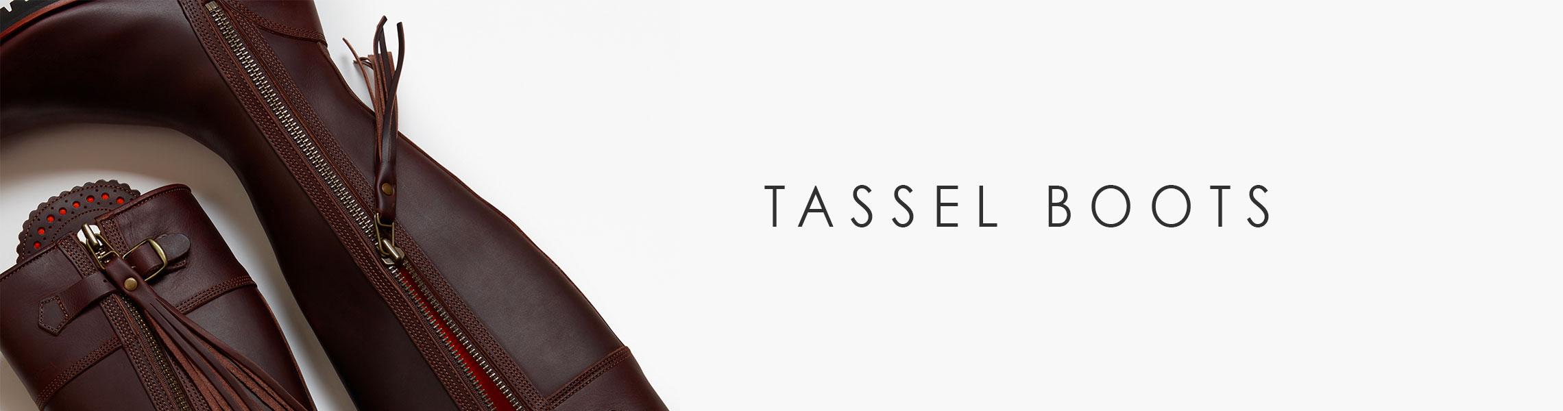TASSEL BOOTS