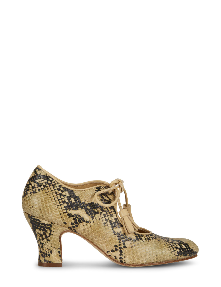 aa956c9451280b COCO SNAKE SHOE - NATURAL